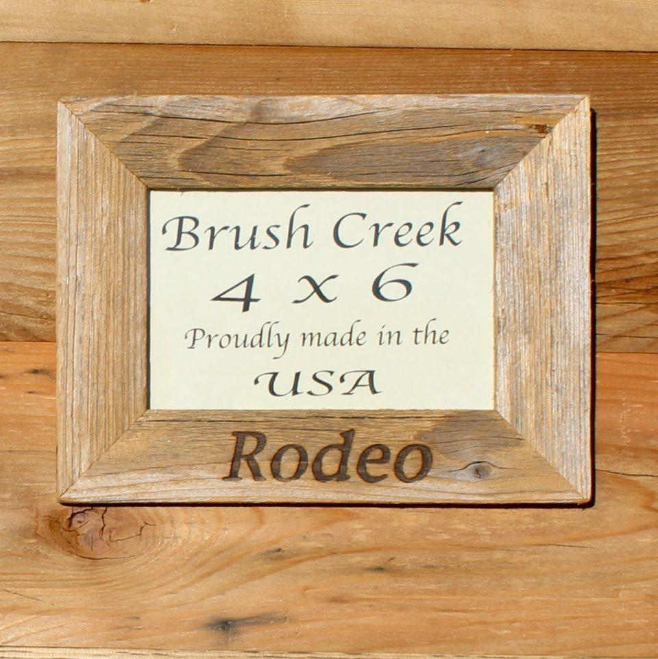 Branded frame Western Rodeo