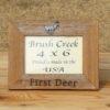 Branded Picture Frame First Deer