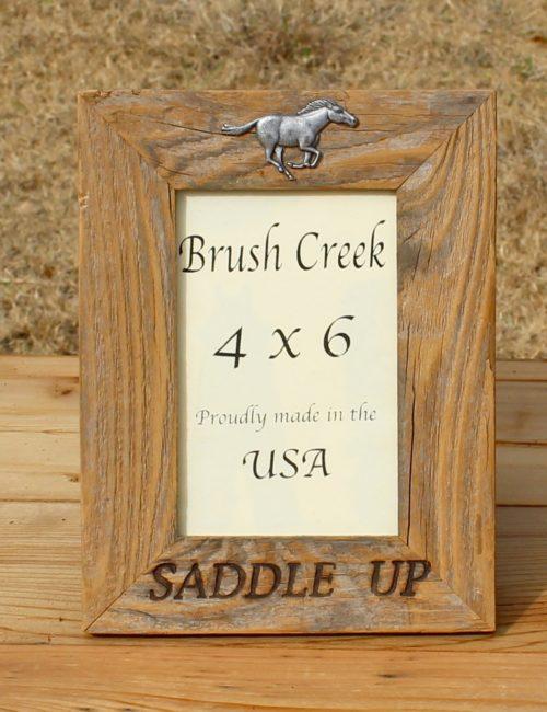Branded Picture Frame Saddle Up