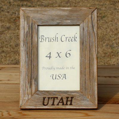 Branded Picture Frame US State Utah