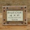 Rustic Picture Frame Corner Nailhead