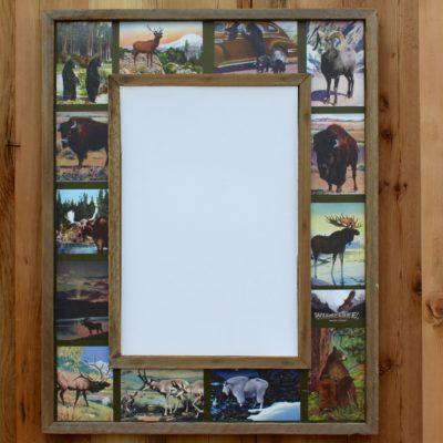 Wild Life Collage Mirror