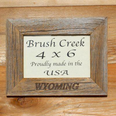 Frame Branded Wyoming