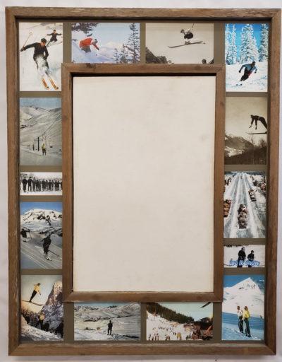 Ski Collage Mirror